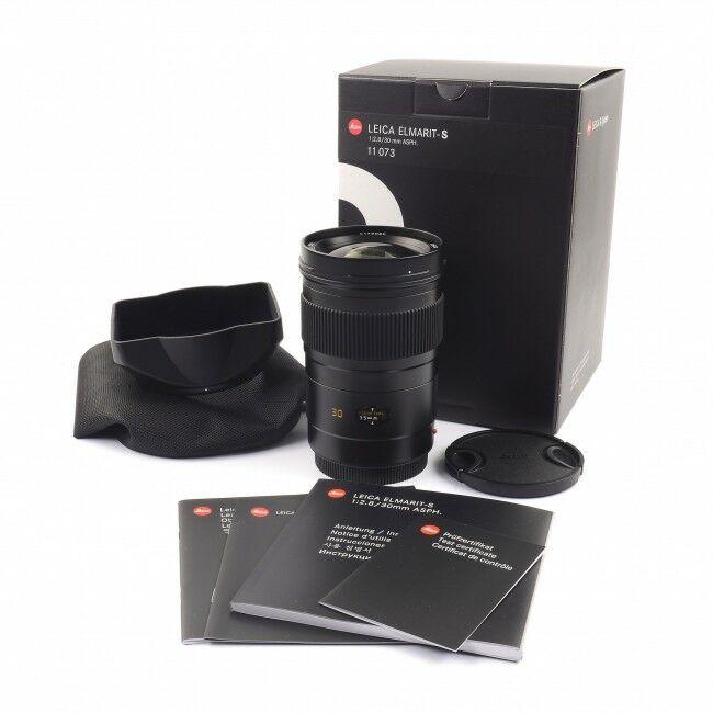 Leica 30mm f2.8 Elmarit-S + Box