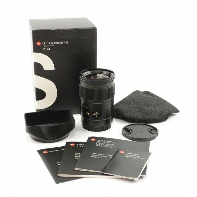 Leica 35mm f2.5 Summarit-S + Box