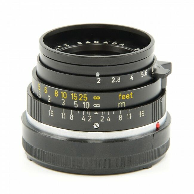 Leica 35mm f2 Summicron 3rd Version Without Filter Threads