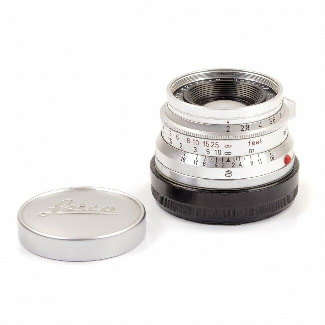 Leica 35mm f2 Summicron 8 Element Germany READ