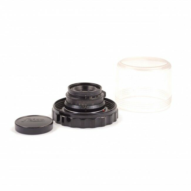 Leica 35mm f2 Summicron 8 Element Black Paint Rare
