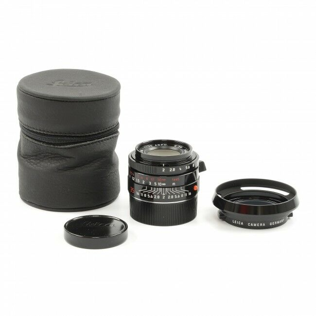 Leica 35mm f2 Summicron-M ASPH Millennium Black Paint