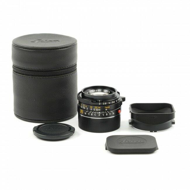 Leica 35mm f2 Summicron-M Black 6-Bit 4th Version King Of Bokeh Germany