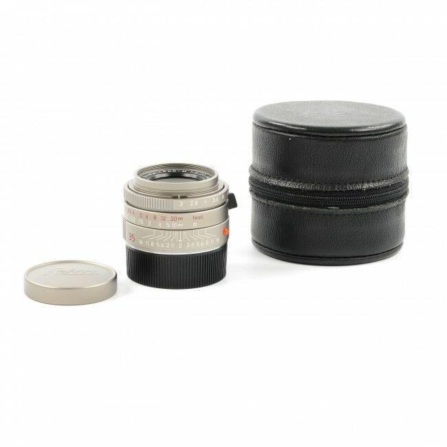 Leica 35mm f2 Summicron-M ASPH Titanium