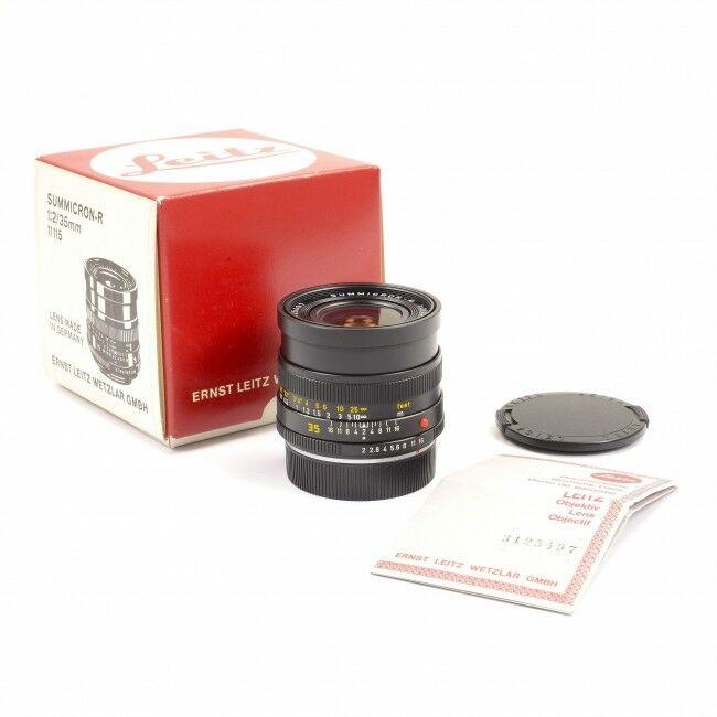Leica 35mm f2 Summicron-R 3-Cam + Box