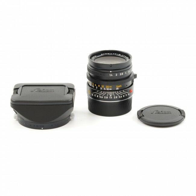 Leica 35mm f1.4 Summilux ASPHERICAL AA + Hood