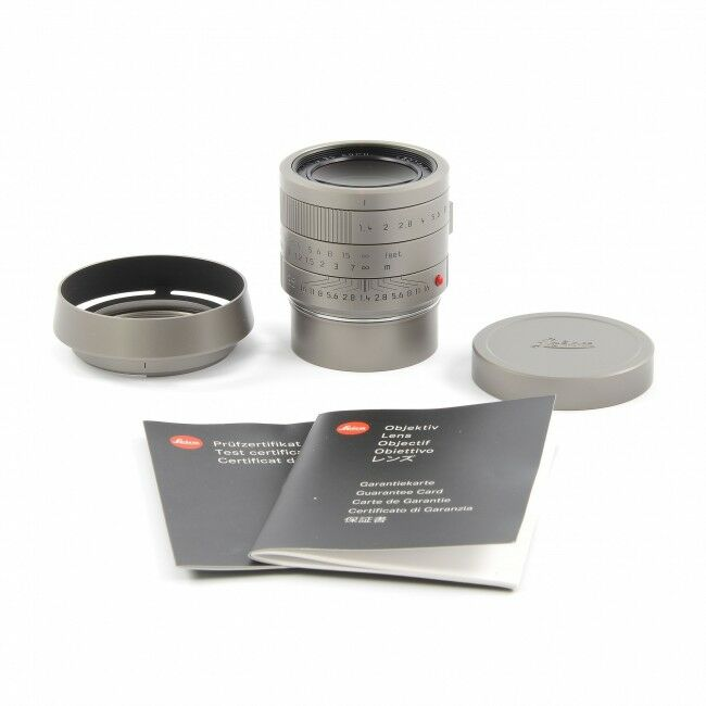 """Leica 35mm f1.4 Summilux-M """"Leica M Edition 60"""" Lens Only"""