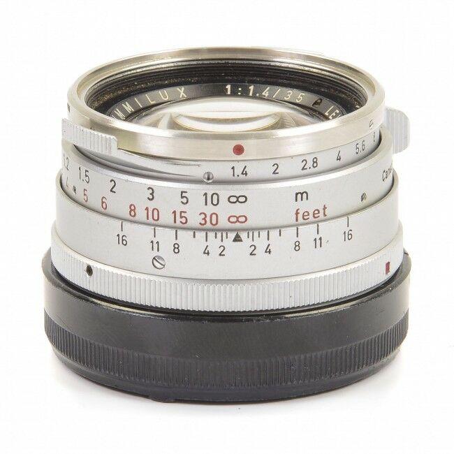 Leica 35mm f1.4 Summilux Steel Rim