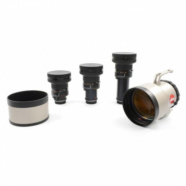 Leica 400mm 560mm 800mm APO-Telyt-R Module Lens Set ROM Complete