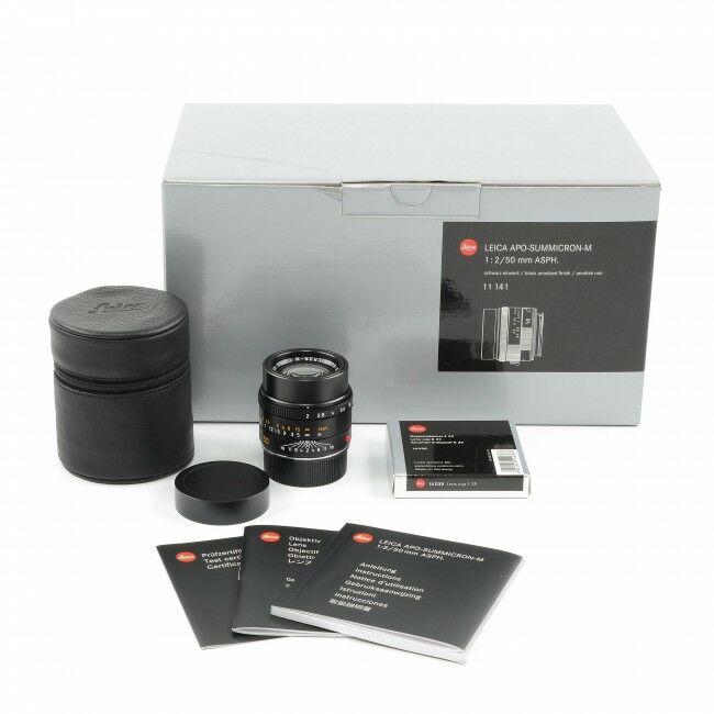 Leica 50mm f2 APO-Summicron-M + Box