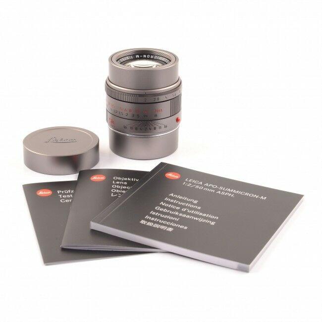 Leica 50mm f2 APO-Summicron-M ASPH Titanium