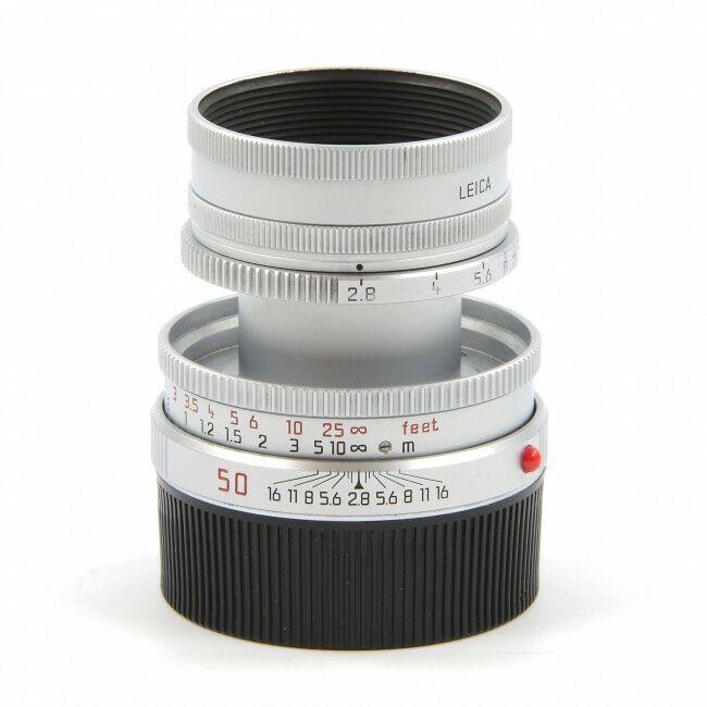 Leica 50mm f2.8 Elmar-M Silver