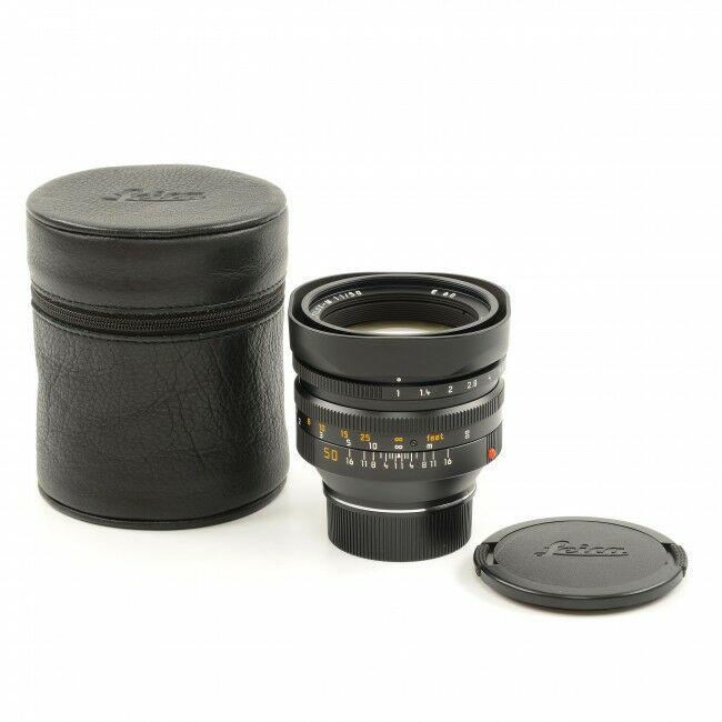 Leica 50mm f1 Noctilux-M 4th Version 6-bit