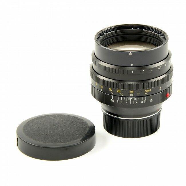 Leica 50mm f1 Noctilux E58 6-Bit