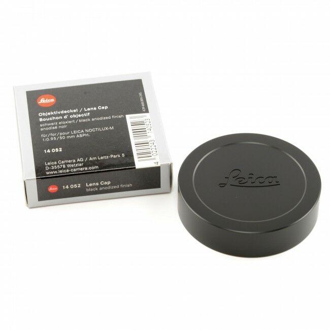 Leica 50mm f0.95 Noctilux-M Black Metal Front Lens Cap