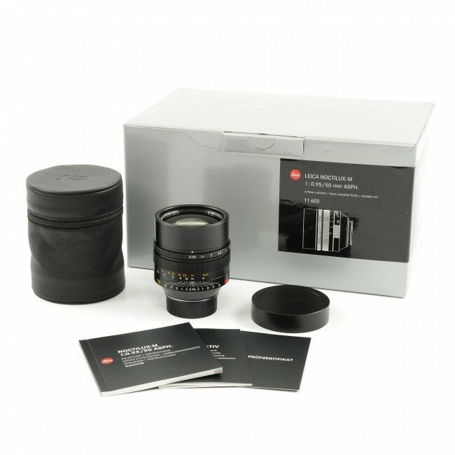 Leica 50mm f0.95 Noctilux-M ASPH + Box