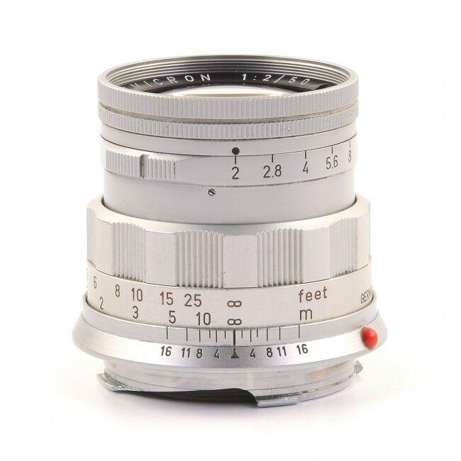 Leica 50mm f2 Summicron Rigid