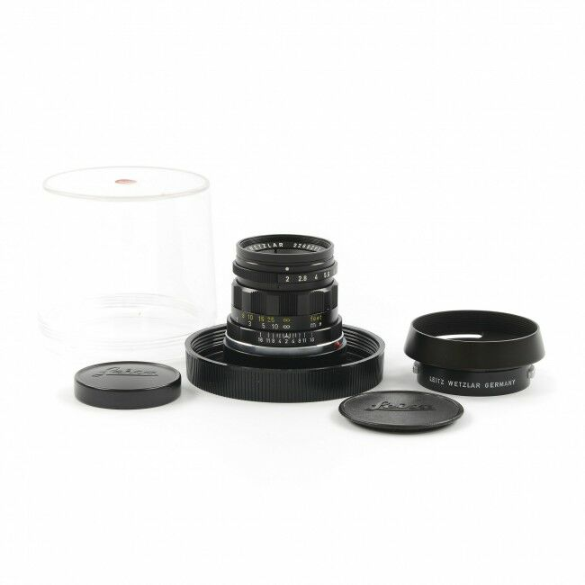 Leica 50mm f2 Summicron 6 Element Coarse Focusing Knurl