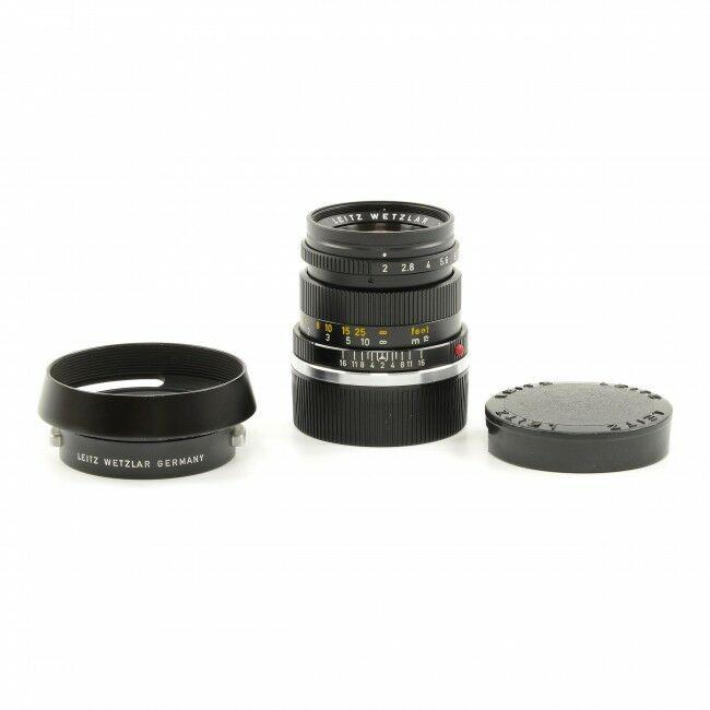 Leica 50mm f2 Summicron 3rd Version + Hood
