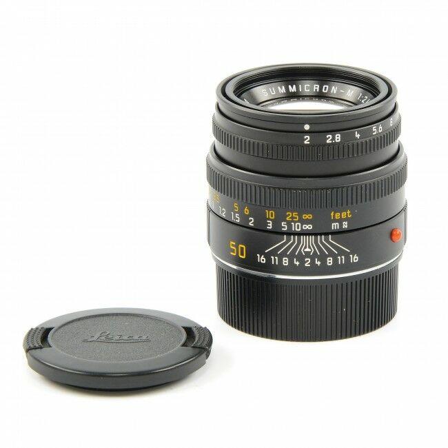 Leica 50mm f2 Summicron-M Black