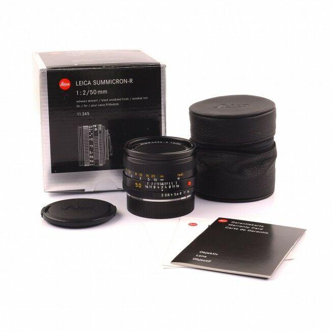 Leica 50mm f2 Summicron-R E55 ROM + Box