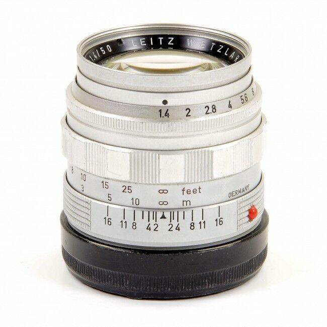 Leica 50mm f1.4 Summilux Silver