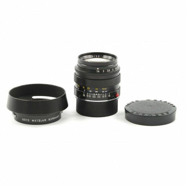 Leica 50mm f1.4 Summilux + 12586 Lens Hood