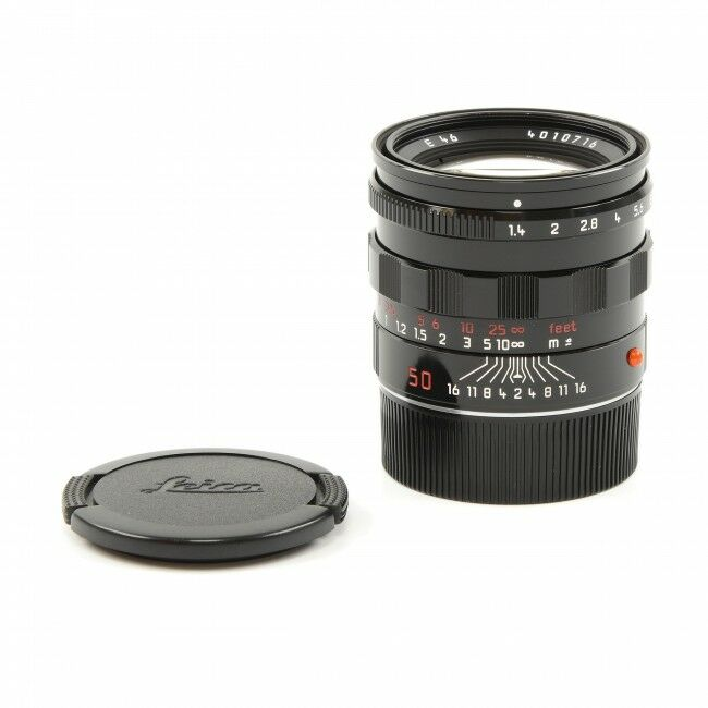 Leica 50mm f1.4 Summilux-M Millennium Black Paint