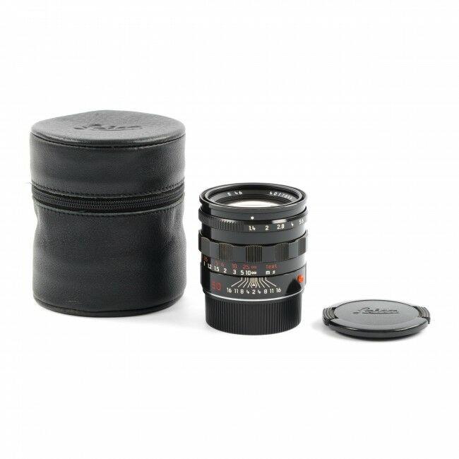 Leica 50mm f1.4 Summilux-M Black Paint