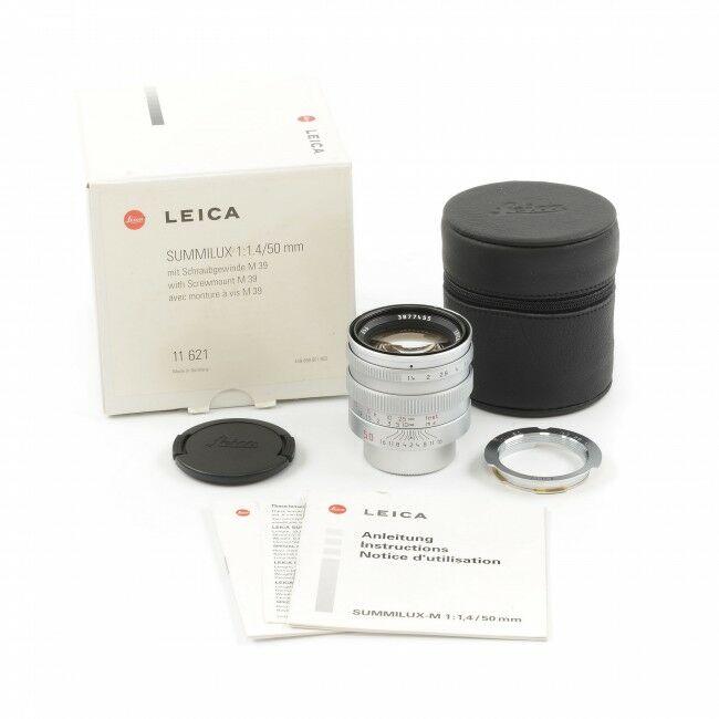 Leica 50mm f1.4 Summilux-M M39 Japan + Box