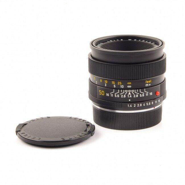 Leica 50mm f1.4 Summilux-R E55 3-Cam