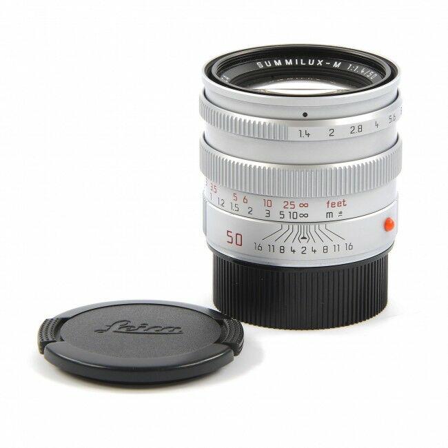 Leica 50mm f1.4 Summilux-M Pre-ASPH Silver + Box