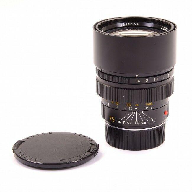 Leica 75mm f1.4 Summilux-M Germany 6-Bit