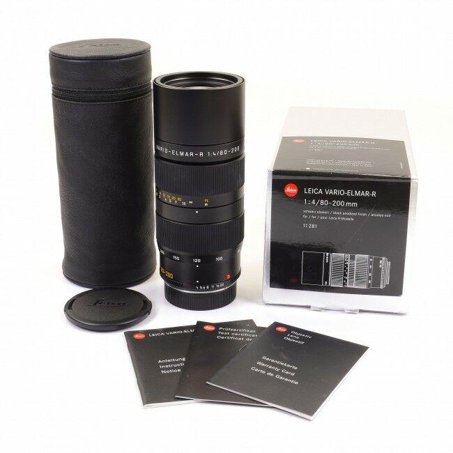Leica 80-200mm f4 Vario-Elmar-R ROM + Box