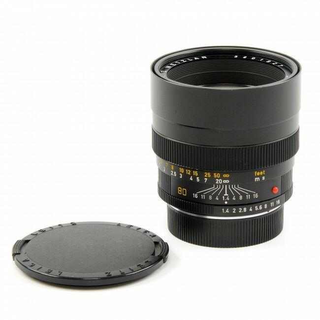 Leica 80mm f1.4 Summilux-R E67 GERMANY