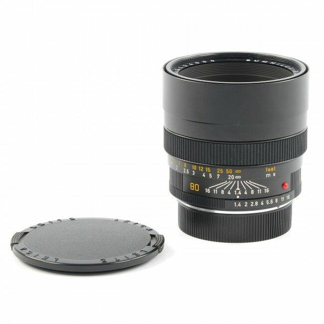 Leica 80mm f1.4 Summilux-R E67 ROM GERMANY