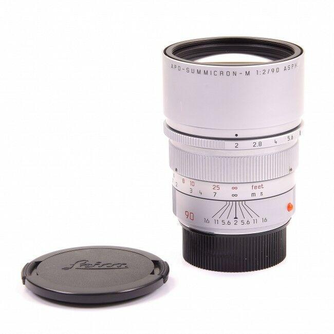 Leica 90mm f2 APO-Summicron-M Silver