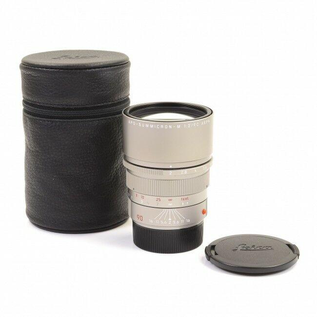 Leica 90mm f2 APO-Summicron-M ASPH Titanium