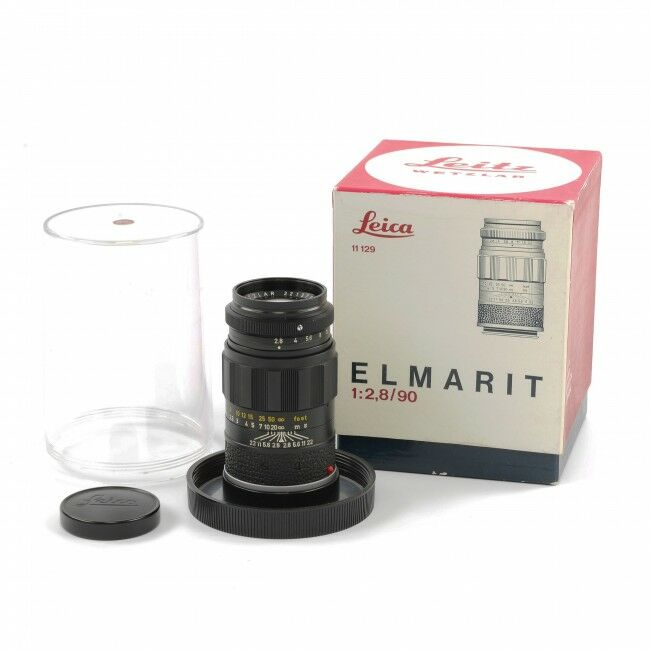 Leica 90mm f2.8 Elmarit + Box