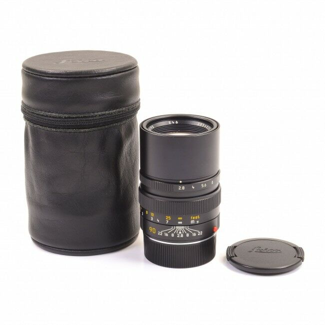 Leica 90mm f2.8 Elmarit-M Black