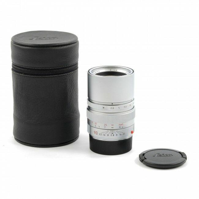 Leica 90mm f2.8 Elmarit-M Silver