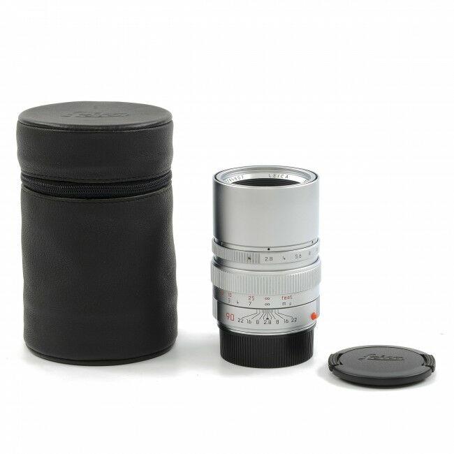 Leica 90mm f2.8 Elmarit-M Silver 6-Bit