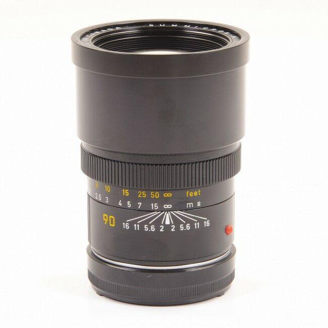 Leica 90mm f2 Summicron Rare Version