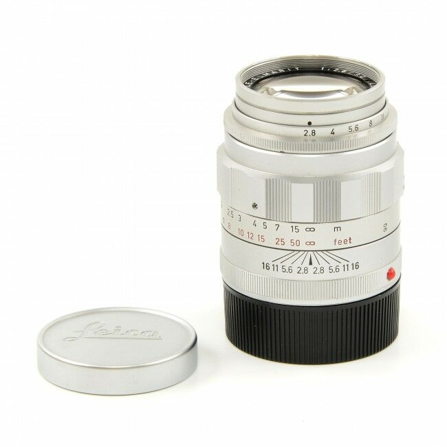 Leica 90mm f2.8 Tele-Elmarit Silver 5 Element
