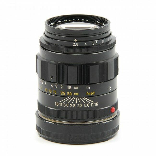 Leica 90mm f2.8 Tele-Elmarit Black