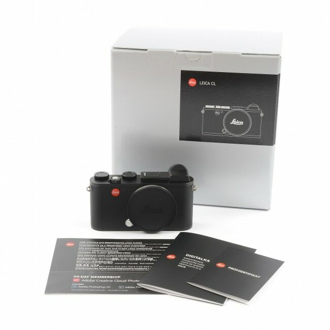 Leica CL Black + Box