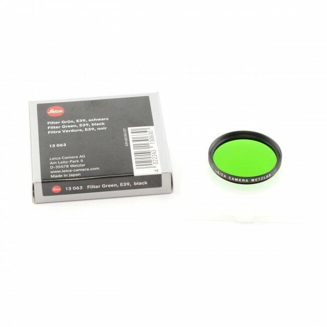 Leica E39 Green Filter + Box