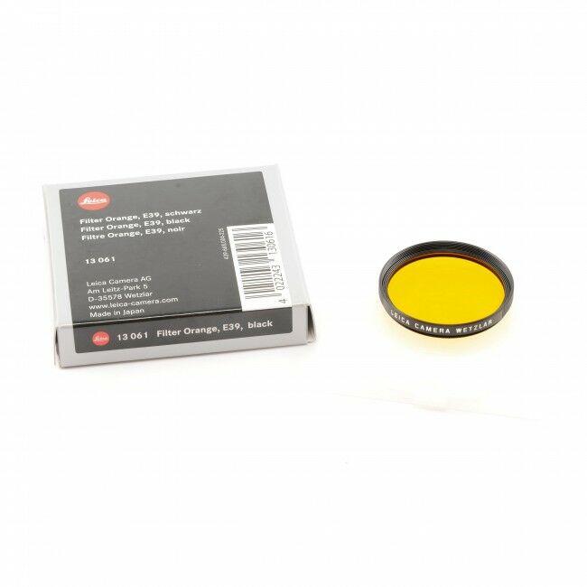 Leica E39 Orange Filter + Box