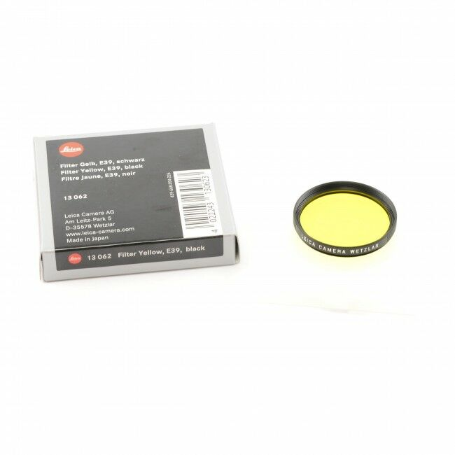 Leica E39 Yellow Filter + Box