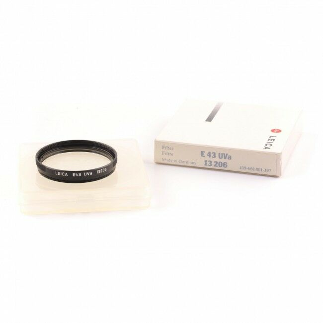 Leica E43 UVA Filter Black + Box